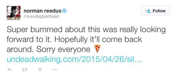 Норман Ридус подтвердил отмену Silent Hills