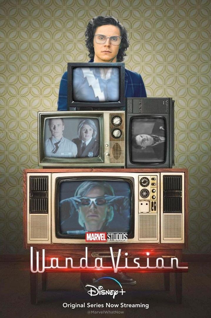Дэдпул, Альтрон, Магнето, Ртуть иДжим Керри: художник показал постеры сериала «ВандаВижн»
