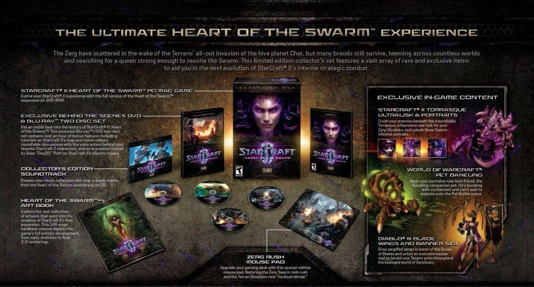 StarCraft II: Heart of the Swarm выйдет весной