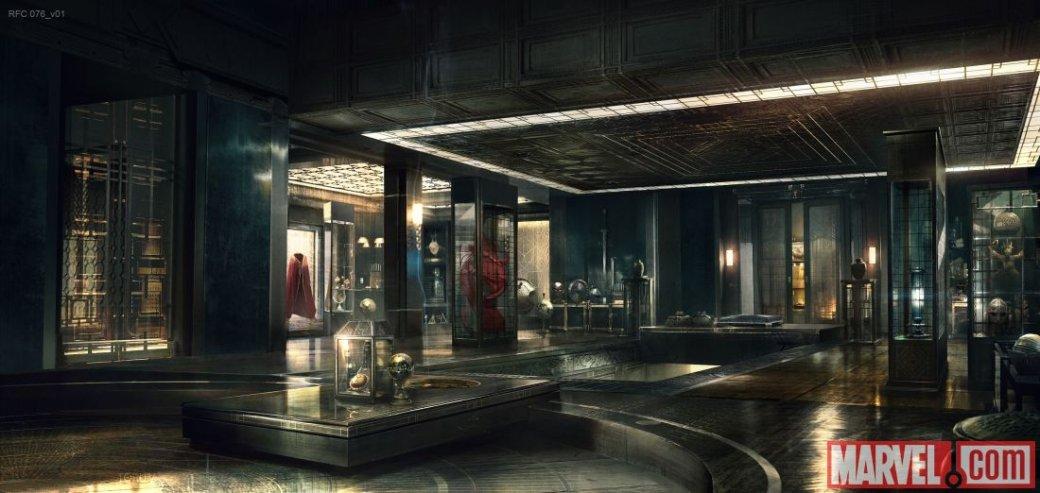 Marvel провела экскурсию по Святилищу Доктора Стрэнджа