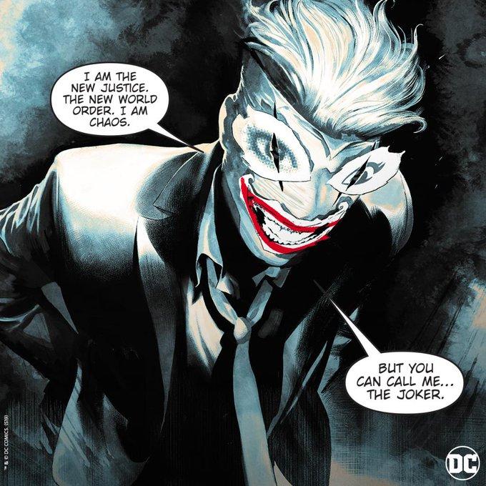Новый дизайн Джокера вкомиксе о15-летней Харли Квинн