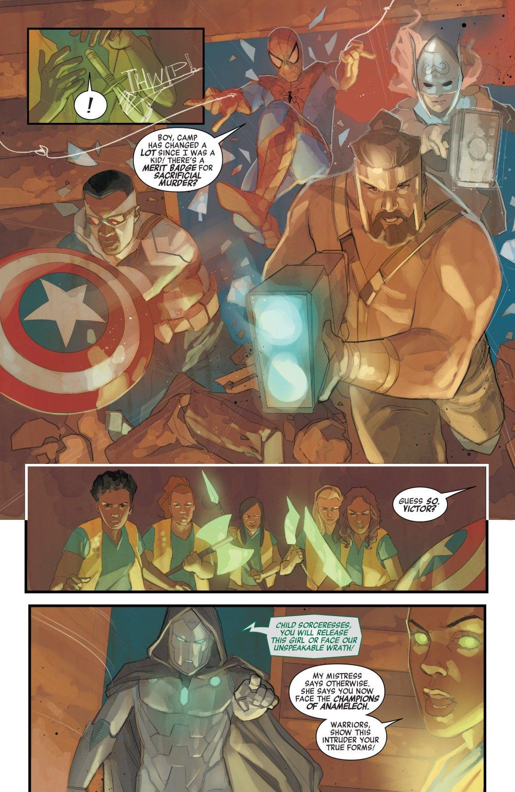 WTF?! Мстители помогают Доктору Думу победить герлскаутов-волшебниц