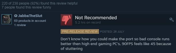 Пользователи Steam ненавидят CoD: Modern Warfare Remastered