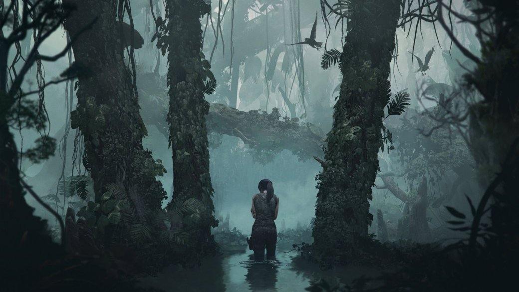 Перезапуск Tomb Raider ознаменовал пришествие новой Лары Крофт— неопытной, уязвимой, пока еще боящейся гробниц иубийств. Кконцу игры Лара преобразилась, ивRise ofthe Tomb Raider она уже смело водиночку выходила против международной милитаристской организации. Казалосьбы, еестановление кэтому моменту уже фактически закончилось— нонет, разработчики заявили, что превращению Лары влегендарную Расхитительницу гробниц будет посвящена целая трилогия. Уже Rise была игрой бесцельной, бессмысленной, аShadow— это точная копия Rise.