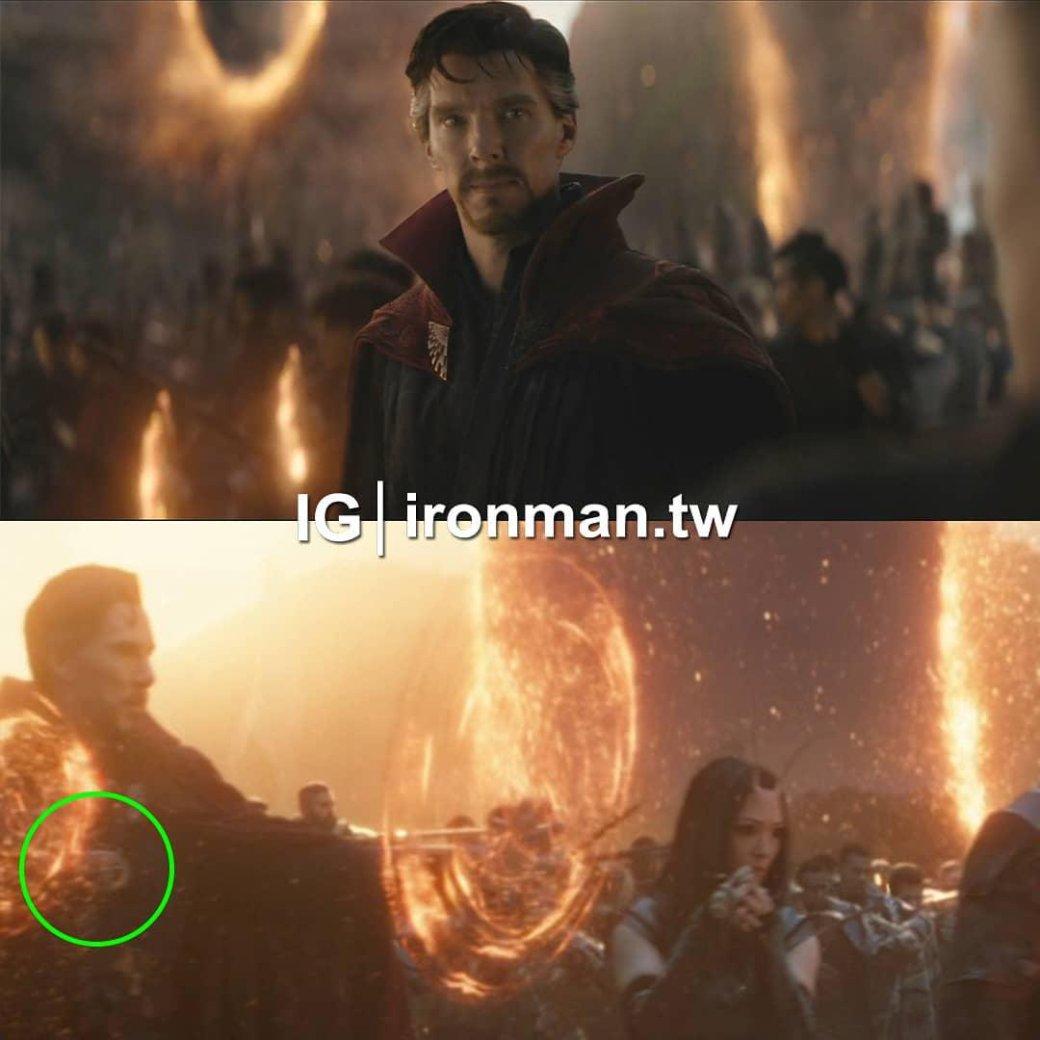 В«Мстителях: Финал» нашли большой киноляп. Онсвязан сДоктором Стрэнджем