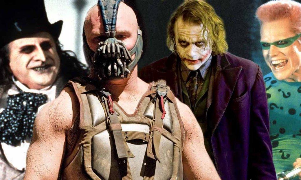 Бэтмен засвою долгую историю успел нажить себе огромную толпу врагов, новфильмах засветились лишь избранные злодеи. Зато все они были яркими, самобытными идаже пугающими. Какой изних похож натебя сильнее всего? Узнать это поможет наш тест!