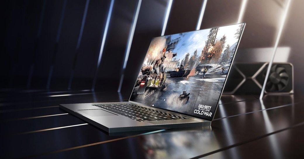Nvidia представила мобильные видеокарты GeForce RTX 3050 иRTX 3050 Ti