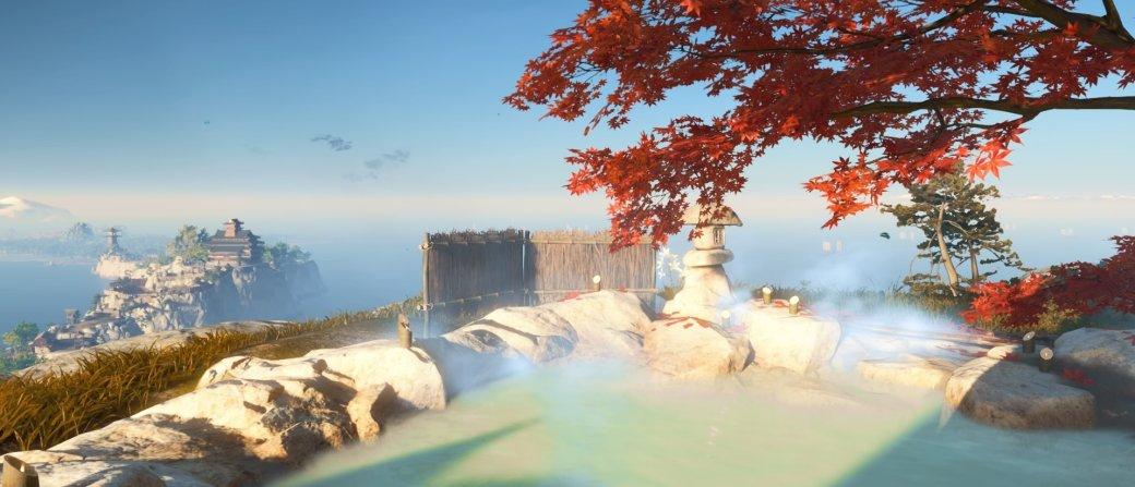 20 запредельно красивых скриншотов Ghost ofTsushima
