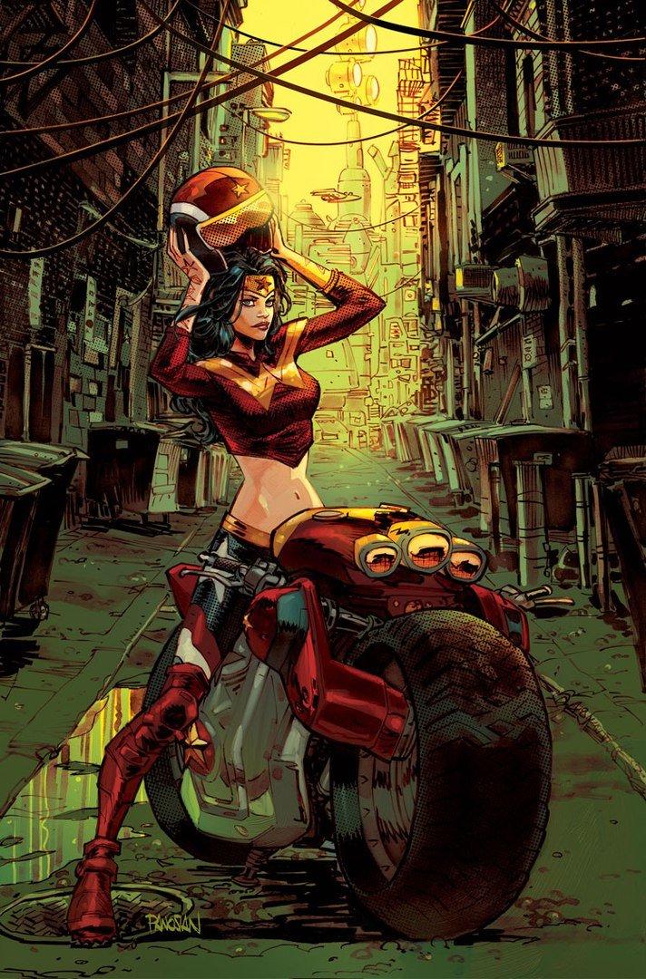 Вновом комиксе DCпревратит супергероинь излодеек вбайкеров