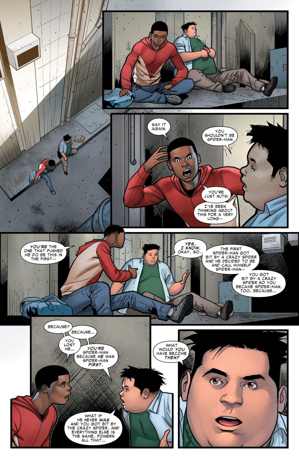 Стоитли Майлзу Моралесу перестать быть Человеком-пауком?