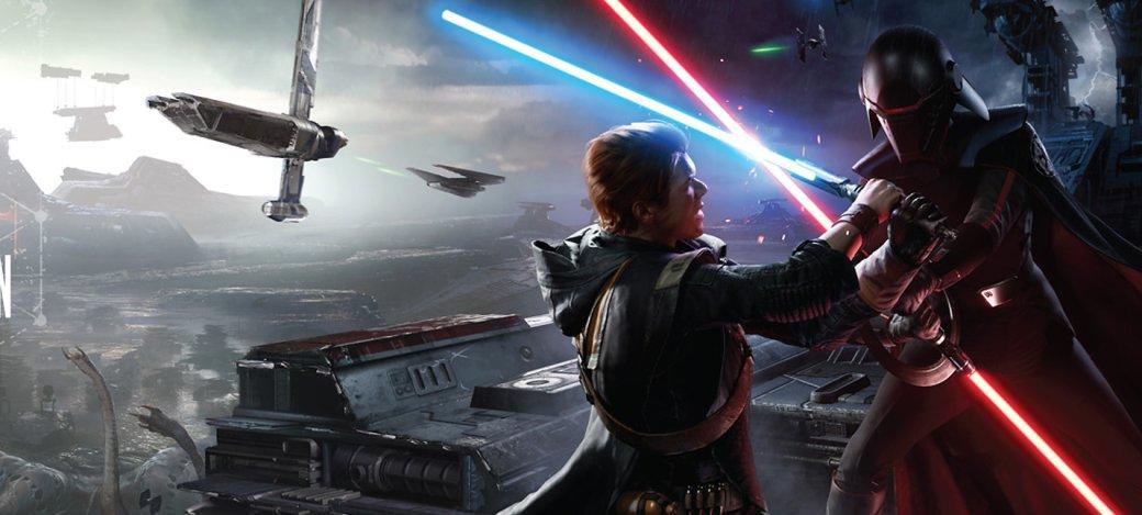 Е3 2019: угон шагохода изашкаливающая Сила вновом трейлере Star Wars Jedi: Fallen Order