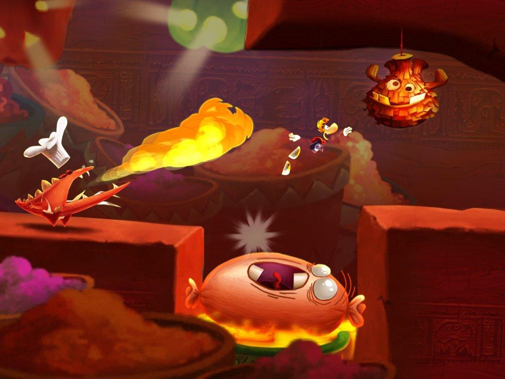 Rayman Fiesta Run ворвалась в российские чарты App Store