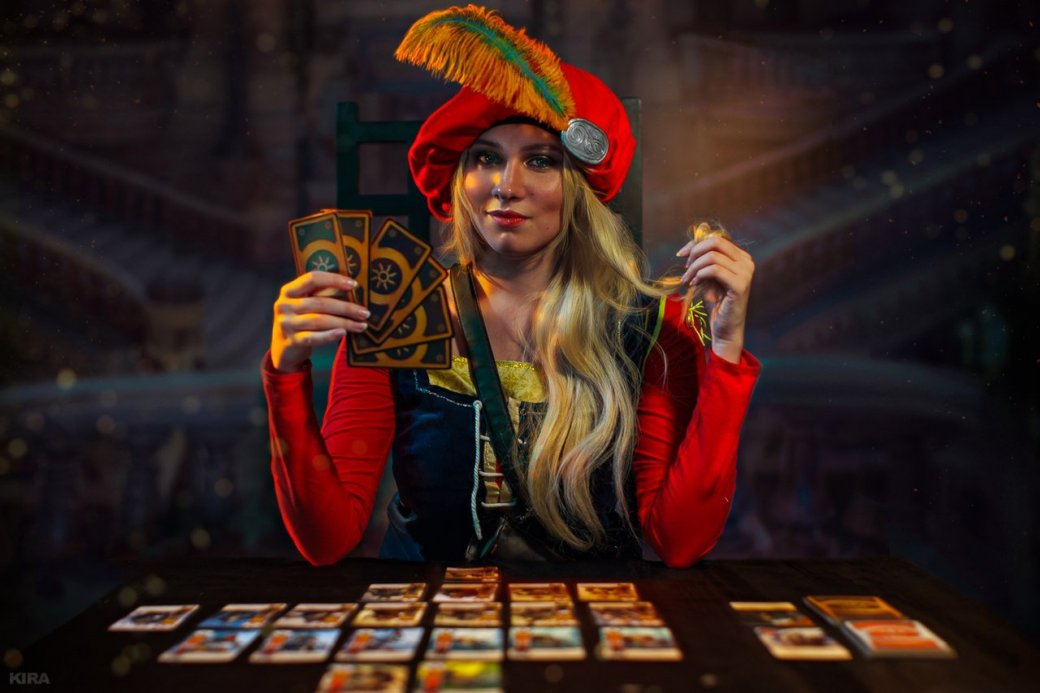 Косплей дня: персонажи «Ведьмака» играют вГвинт