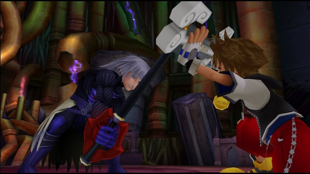 Полный пересказ сюжета всей серии Kingdom Hearts