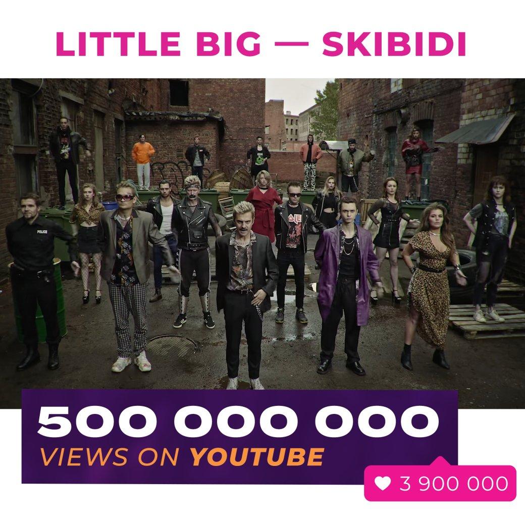 500 миллионов просмотров: Little Big рассказали орекорде клипа «Skibidi»