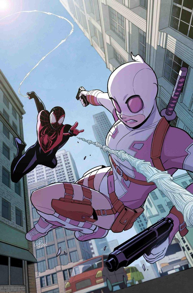 Гвенпул случайно раскроет личность Человека-паука Майлза Моралеса
