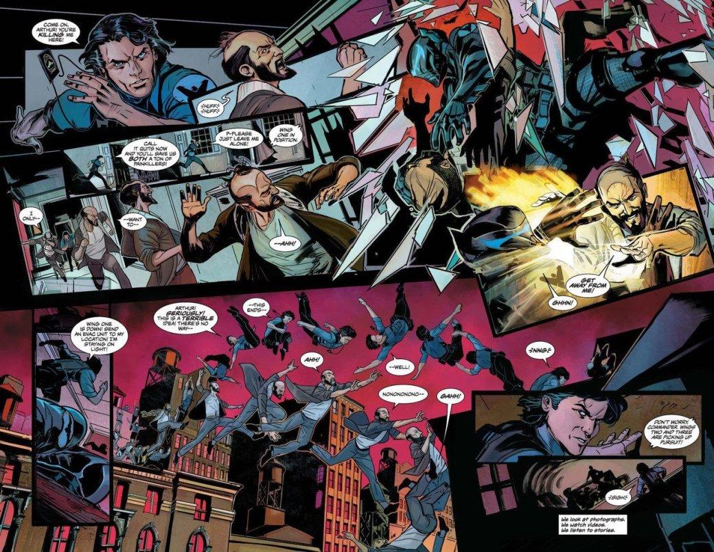 Найтвинг-нацист уничтожает вселенную DC... стоп, что?!