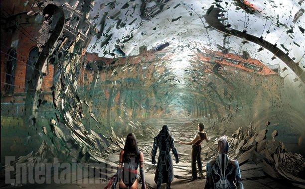 Концепт-арт: на что способен Магнето в фильме «Люди Икс: Апокалипсис»