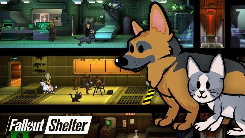 В Fallout Shelter теперь можно заводить животных