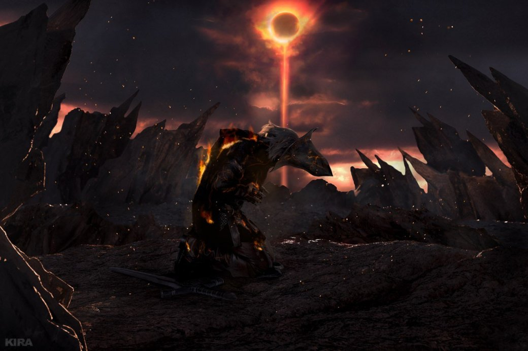 Косплей дня: Негорящий и Юрия из Лондора в Dark Souls 3
