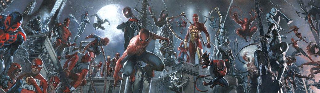26сентября издательство Marvel Comics начнет выпускать серию комиксов Spider-Geddon, где множество Людей-пауков (втом числе иЧеловек-Паук изскоро выходящей игры для PS4) соберутся вместе, чтобы противостоять общей угрозе.<br />Однако, как известно, все новое— это хорошо забытое старое: в2014 году издательство Marvel уже выпустило событие сточно такимже синопсисом, иназывалось оно Spider-Verse. Пришло время вспомнить, чтоже там было.