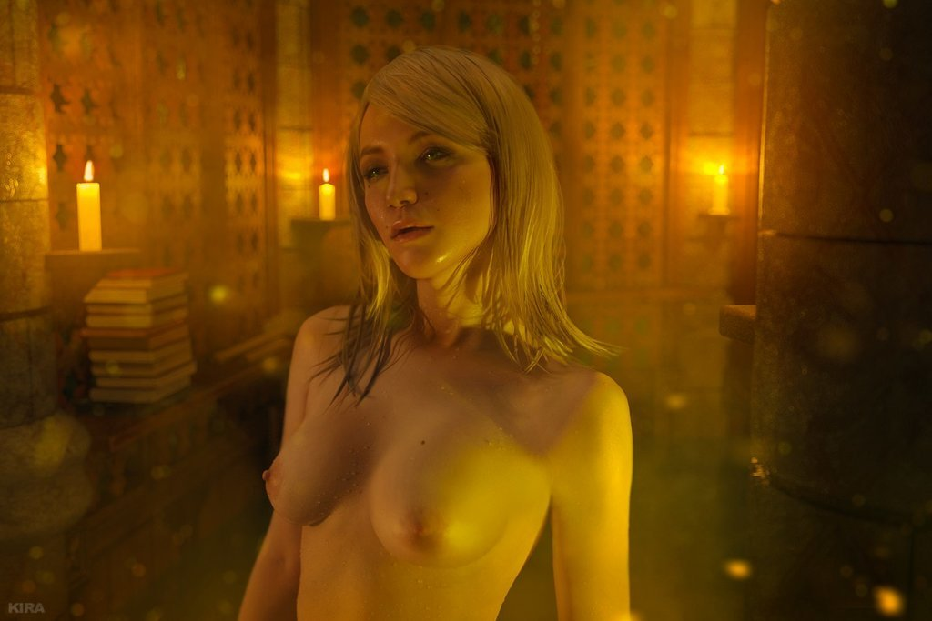 Косплей дня: обольстительная Кейра Мец из The Witcher 3 (NSFW)