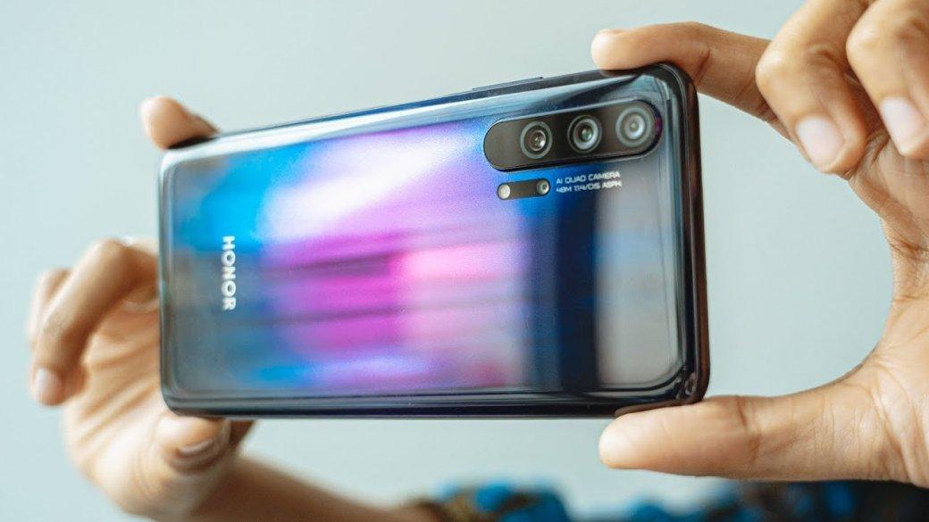 Huawei отложила продажи флагмана Honor20 Pro нанеизвестный срок