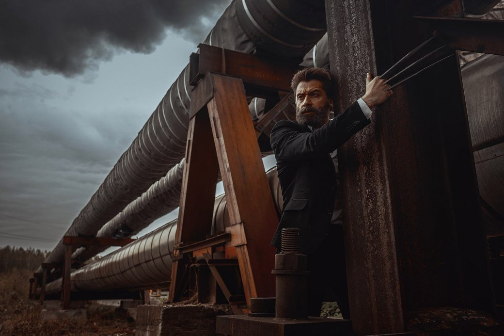 Косплей дня: потрясающий образ Росомахи изфильма «Логан»