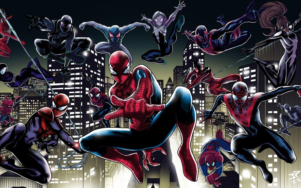 Коп-паук, Паук-человек и еще около ста Паучков в фанатском анимационном ролике