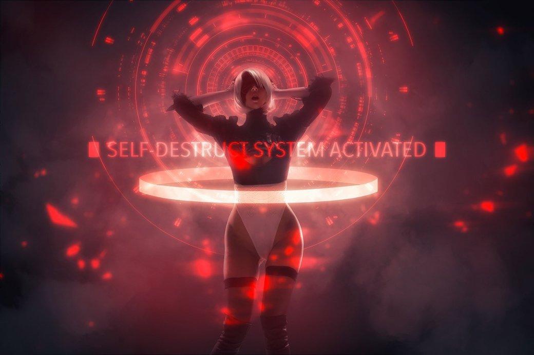 Косплей дня: андроид 2B из NieR: Automata
