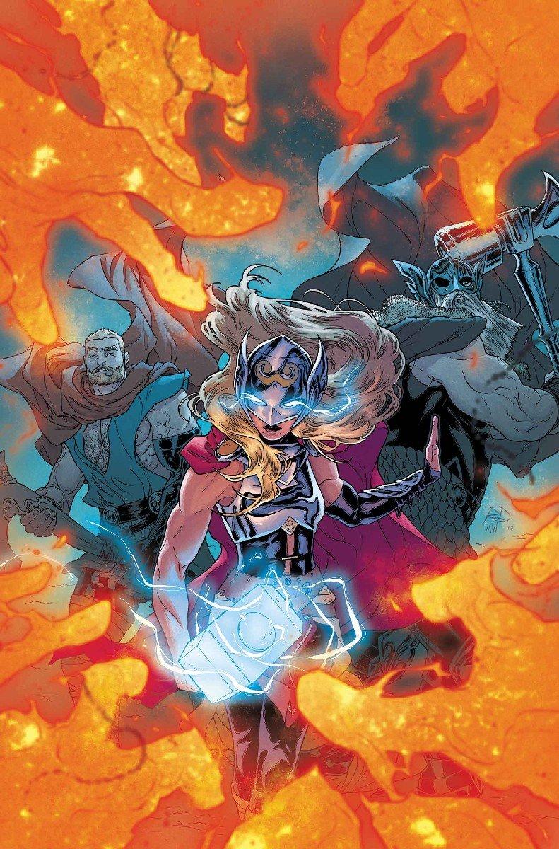 В одном комиксе встретятся сразу три (!) разных Тора