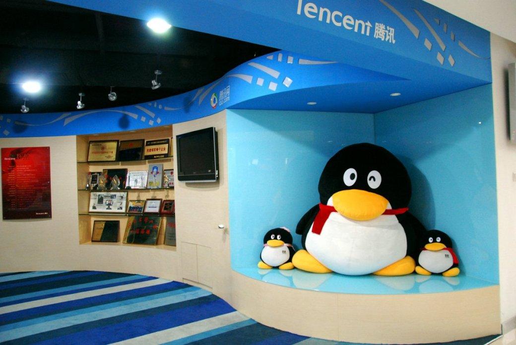За полгода Tencent заработала на играх в полтора раза больше EA