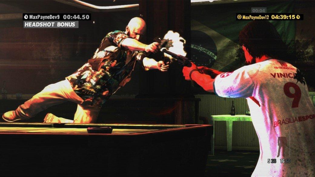 Скриншоты Max Payne 3: хэдшот бонус