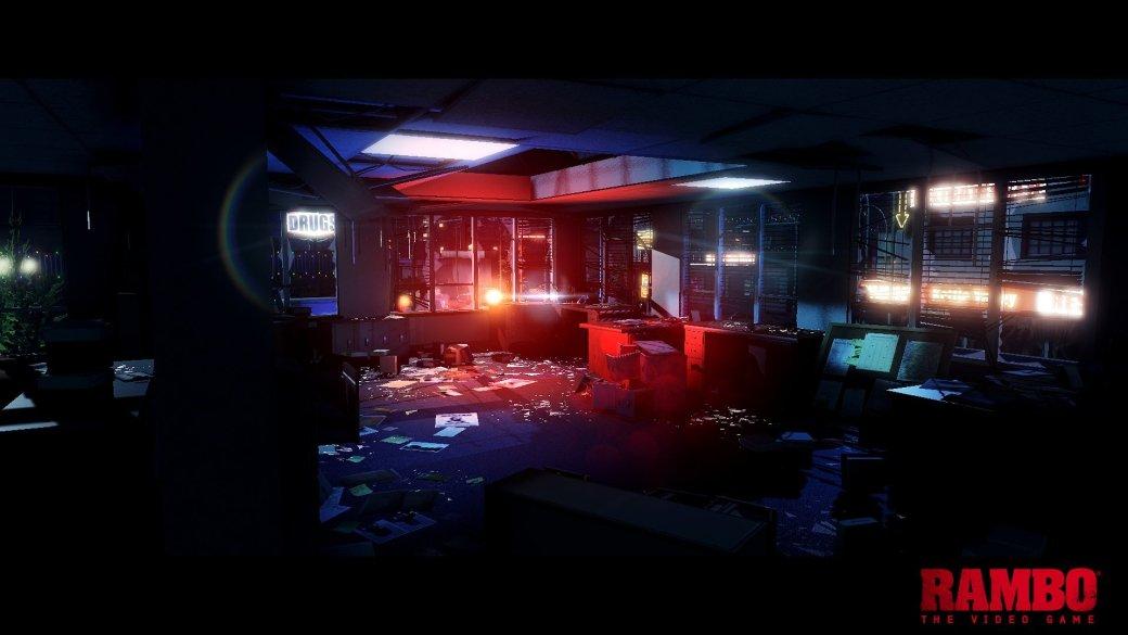 Опубликован первый скриншот видеоигры Рэмбо