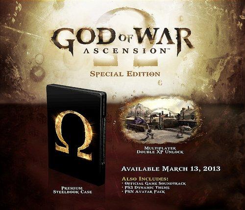 Раскрыто коллекционное издание God of War: Ascension