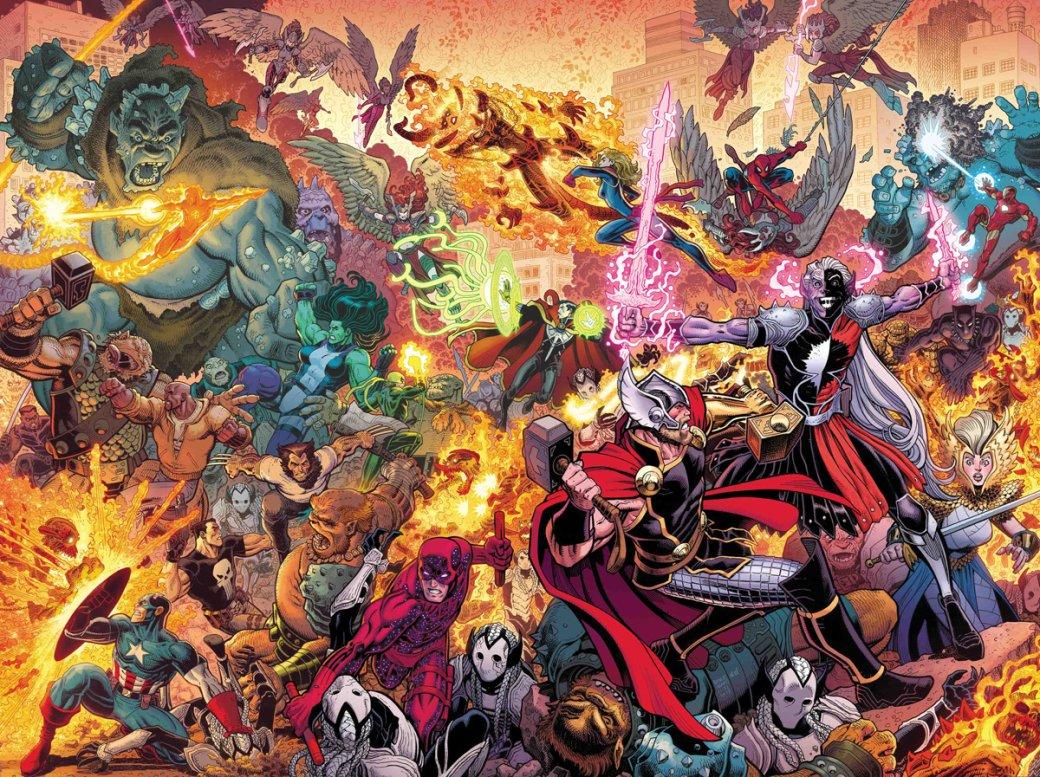 Что нужно знать оThe War ofthe Realms— новом событии вкомиксах Marvel обитве заМидгард