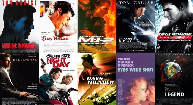 Какие типы кинопостеров бывают? У Тома Круза есть своя категория