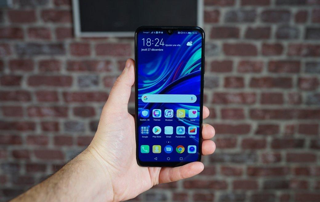Huawei представила бюджетный смартфон Y7Pro 2019