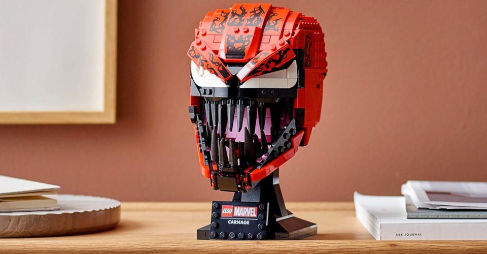 LEGO выпустил набор с бюстом Венома