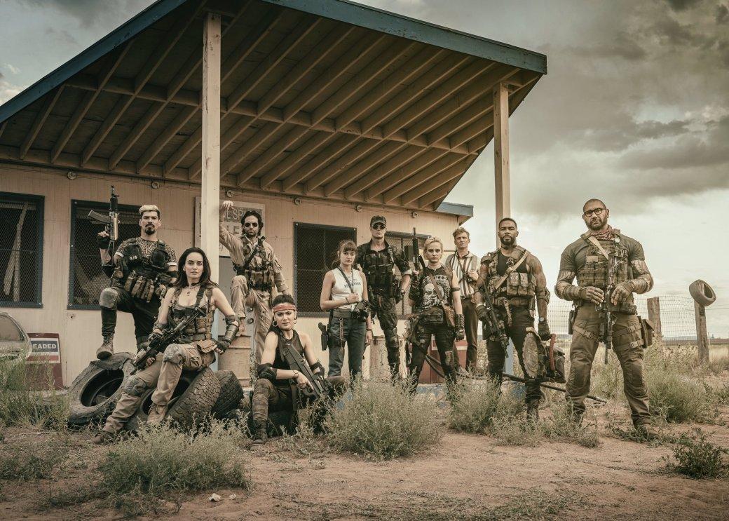У«Армии мертвецов» Зака Снайдера будет приквел ианиме-сериал