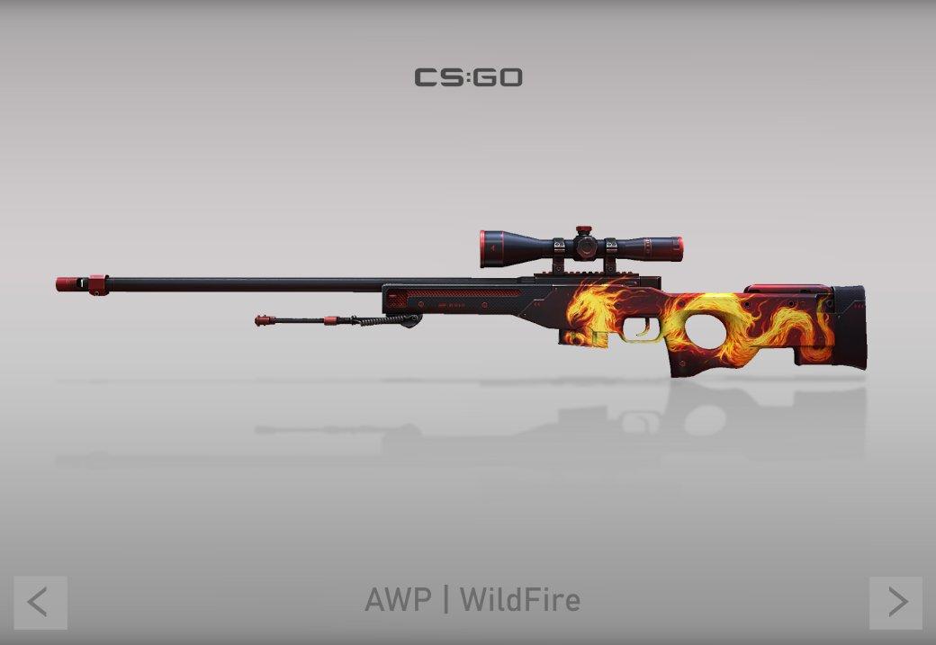 Самые красивые скины на AWP для CS:GO, которые были созданы в рамках конкурса к юбилею игры