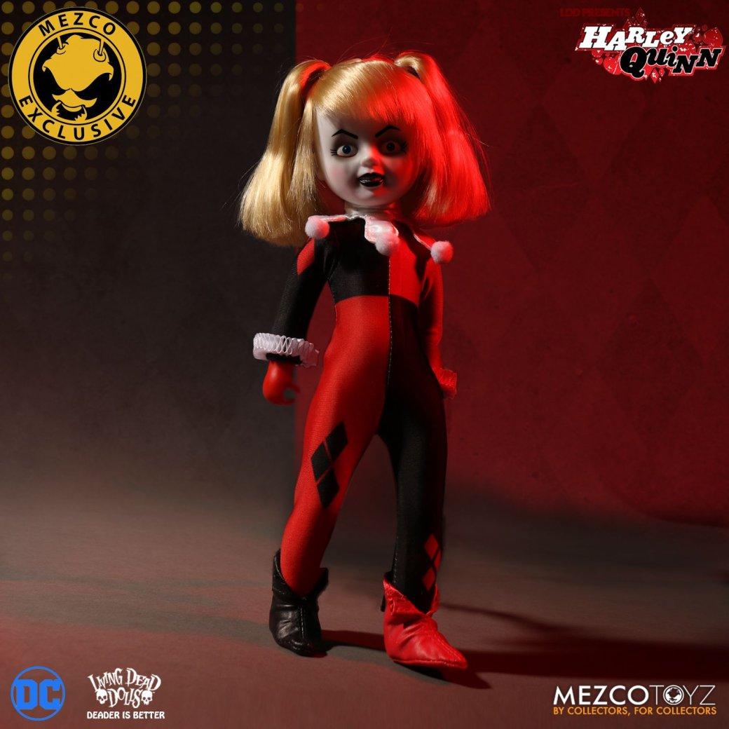 Кукла Харли Квинн встиле «Чаки» выглядит очень жутко