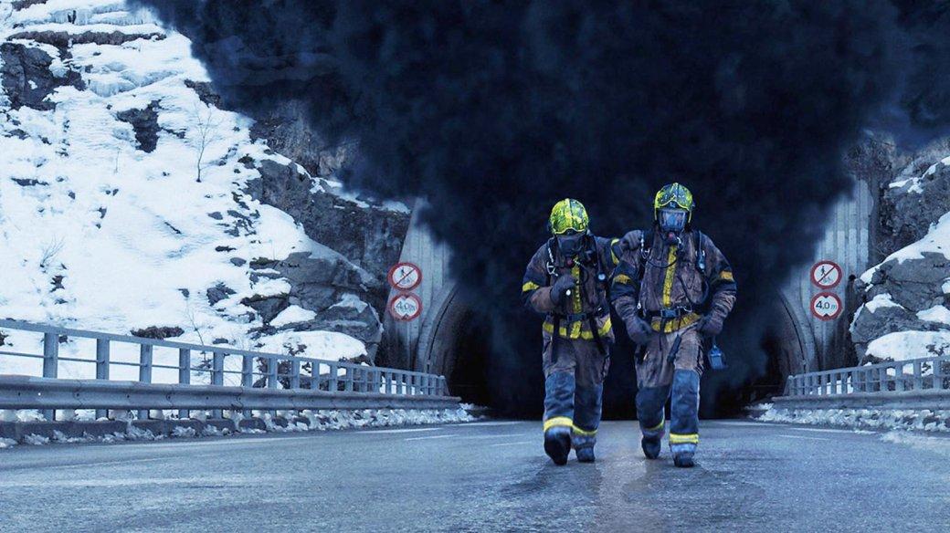 Рецензия на фильм-катастрофу «Туннель: Опасно для жизни». Вьюга фьорды пеплом кроет