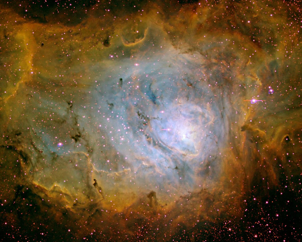 30 поразительных снимков скосмического телескопа «Хаббл»