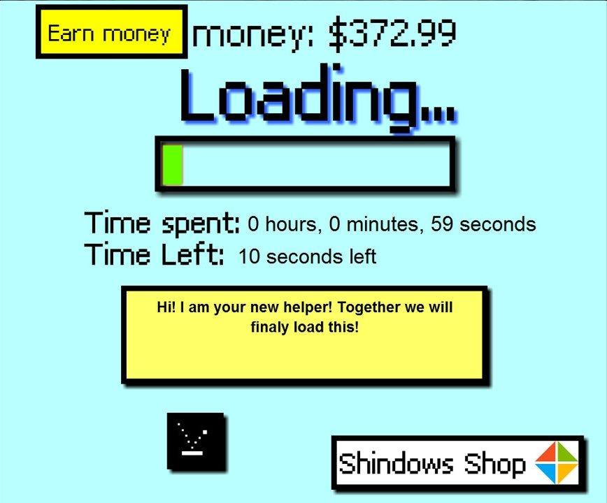 Симулятор экрана загрузки!!! Да, такая игра действительно существует
