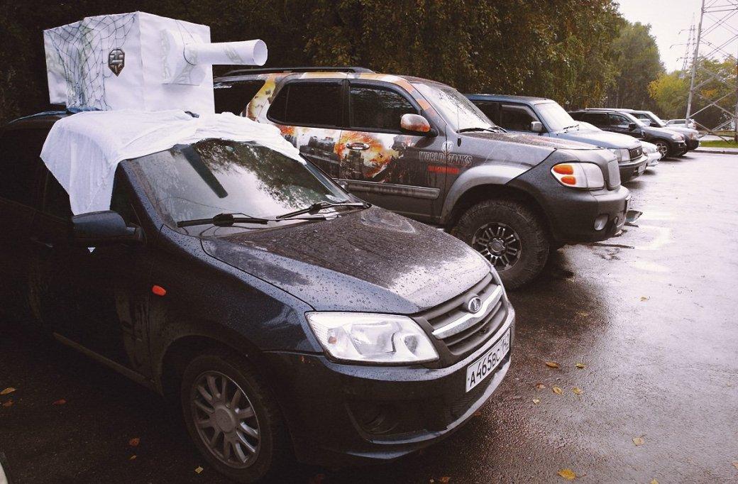 Wargaming провела автопробег на 16,5 тыс. км во имя памяти о войне