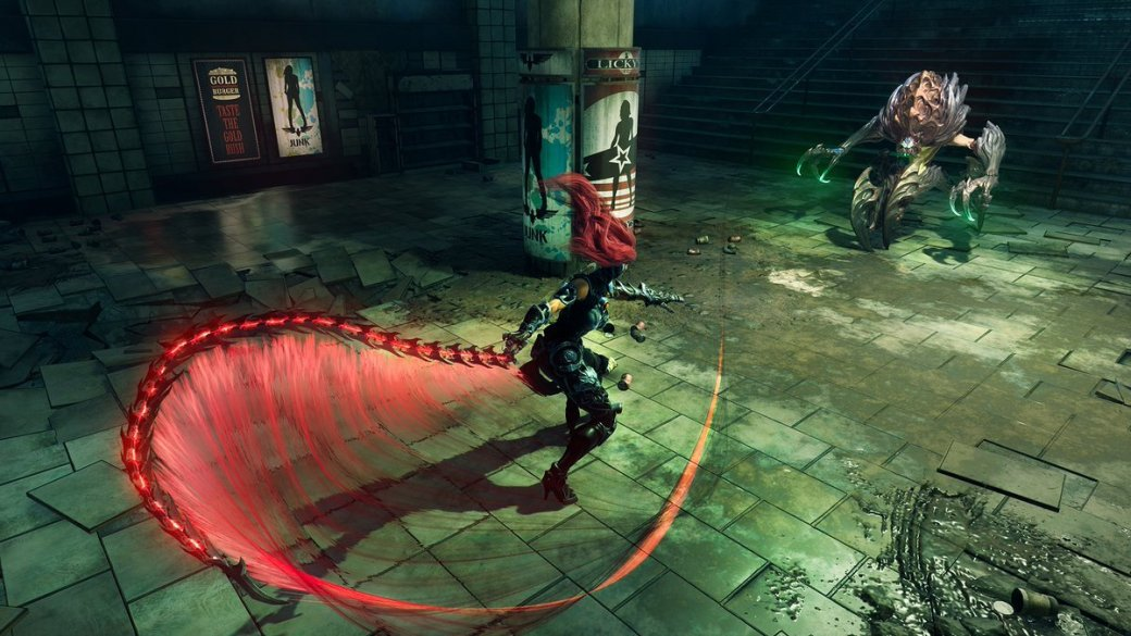 ВСеть утекли первые подробности и скриншоты Darksiders III