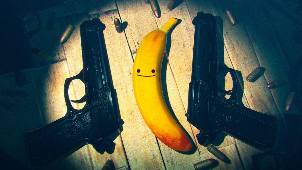 MyFriend Pedro— безумный экшен, где надо без остановки палить потоплам противников, крутить стильные сальтухи ишвыряться сковордками. Аеще вней один изперсонажей— банан поимени Педро. Иондруг главного героя.