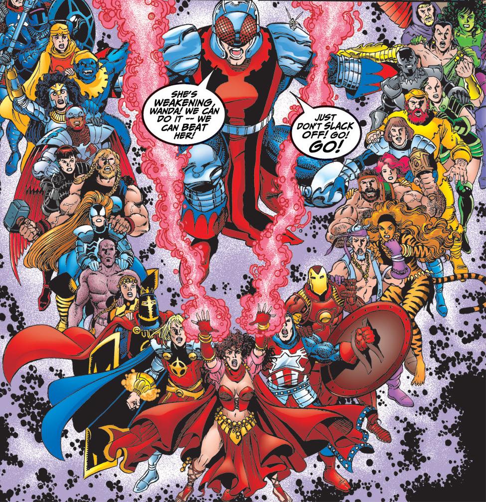 Как менялся состав Мстителей вкомиксах икакие герои были вкоманде вразные годы?