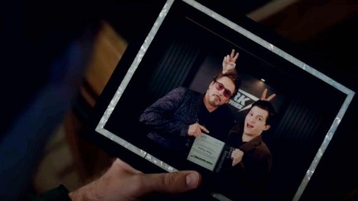 Том Холланд незнал, что его забавное фото сДауни-младшим сыграет важную роль в«Финале»